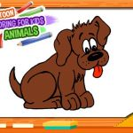 Cartoon Coloring Book for Kids – Animals