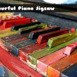 Colourful Piano Jigsaw