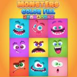 Monsters Color Fill
